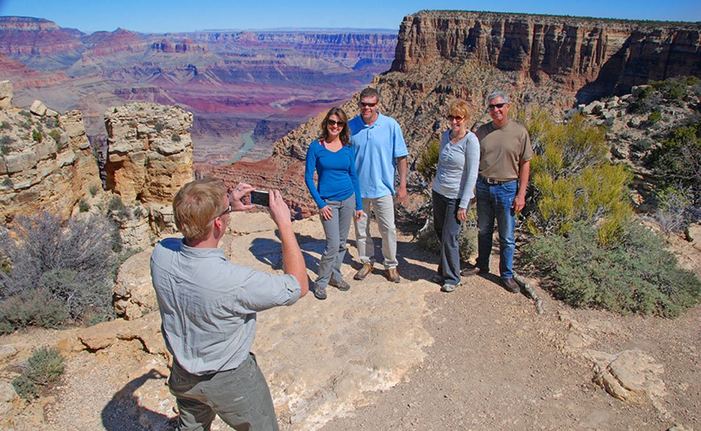 Ample time to explore along the canyon rim