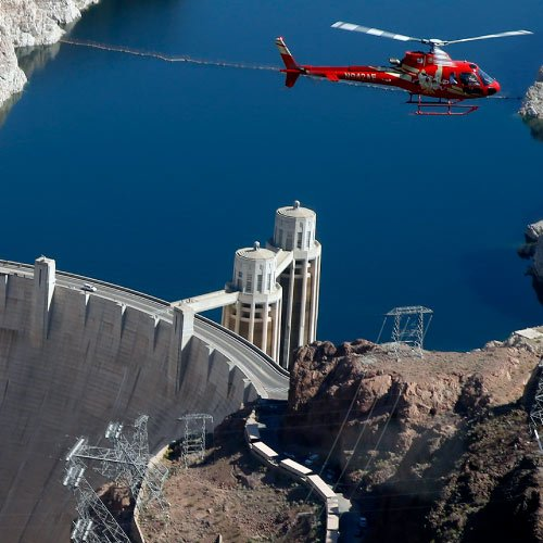 Highlights Air & Hoover Dam Bus Tour