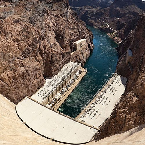 Hoover dam bus tour scenic airlines for Hoover dam motor coach tour