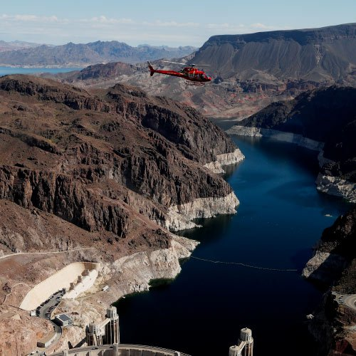 Hoover Dam Deluxe Bus And Helicopter Tour