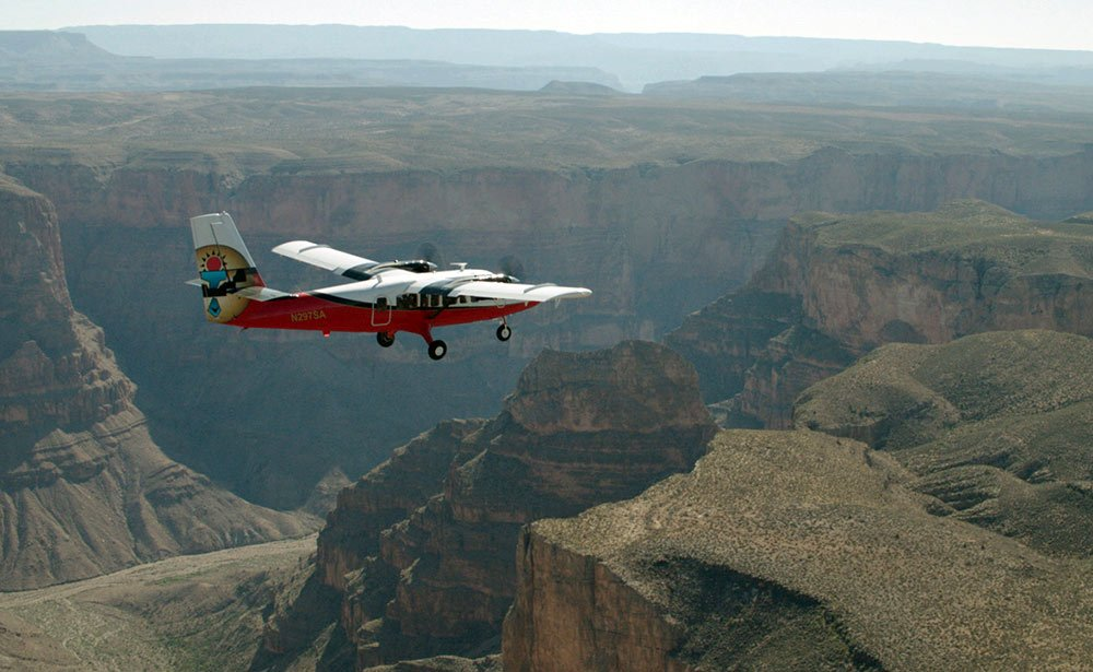 Traversing the West Rim from the sky