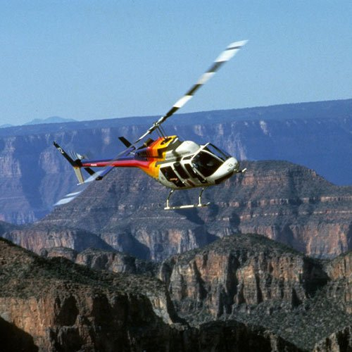 South Rim Bus Tour with Helicopter