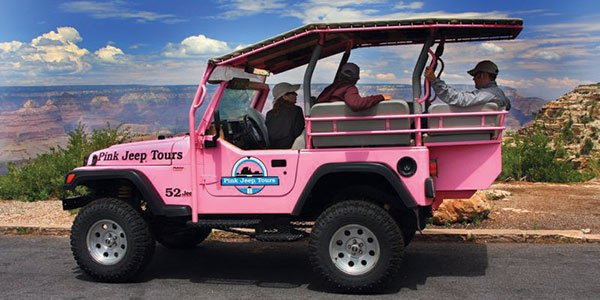 South Rim Motorcoach Tour With Jeep