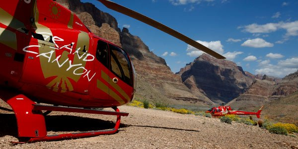 West Rim Bus Tour with Helicopter and Boat