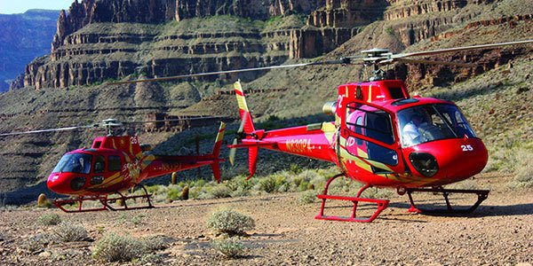 West Rim Bus Tour with Helicopter and Skywalk