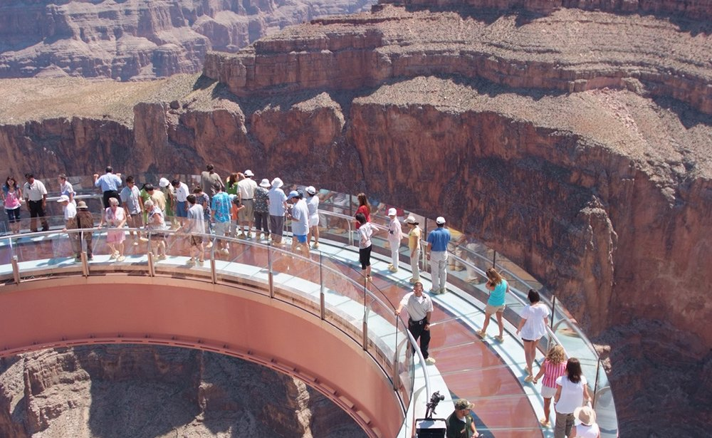 The Skywalk offers the ultimate sightseeing experience.