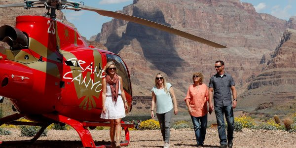 West Rim Bus Tour with Helicopter